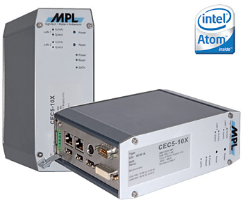 Compact Embedded Computer with Intel Atom (CEC5-X)