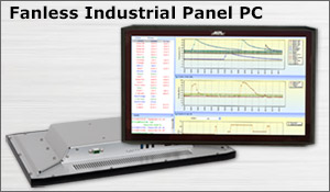 Fanless Industrial Panel PC