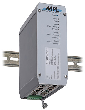 Industrial Firewall / Router with Gigabit Switch (GUARD-FS)
