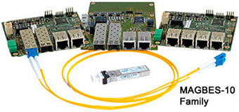 Manageable GigaBit Ethernet Switch (MAGBES-10)