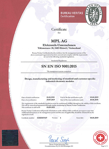 [ISO9001 Certificate]