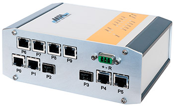 Manageable 10-port GigaBit Ethernet Switch (MAXBES)