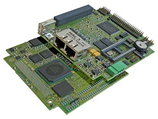 400MHz PowerPC board with FPU (MIP470)