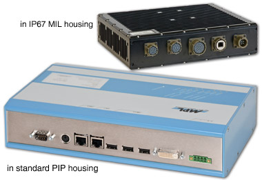 Embedded Industrial PC with Intel Atom Processor (PIP6-11)